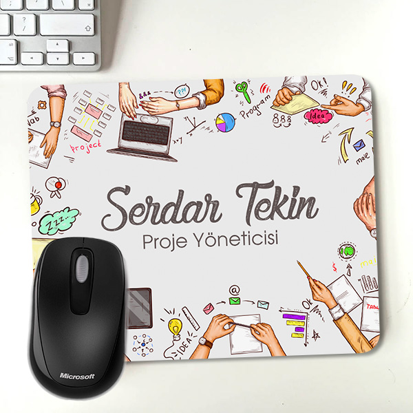 Proje Yöneticilerine Özel Mousepad