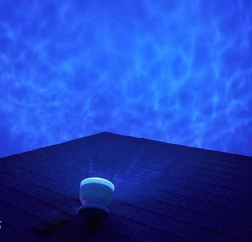 Projeksiyonlu Okyanus Dalgaları Gece Lambası