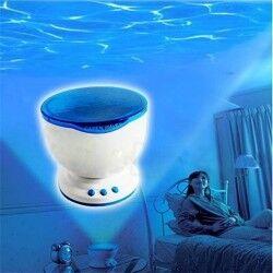 Projeksiyonlu Okyanus Dalgaları Gece Lambası - Thumbnail