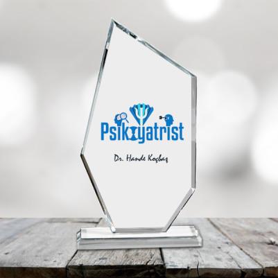- Psikiyatristlere Özel Kristal Cam Ödülü