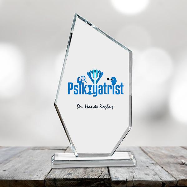 Psikiyatristlere Özel Kristal Cam Ödülü