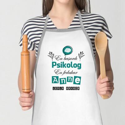 - Psikolog Annelere Özel Mutfak Önlüğü