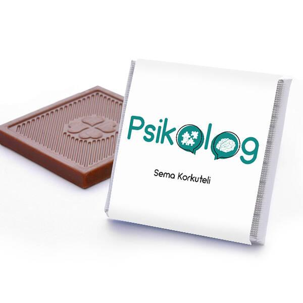 Psikologa Hediye Çikolata Kutusu