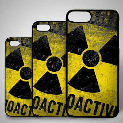 - Radioactive iPhone Telefon Kapağı