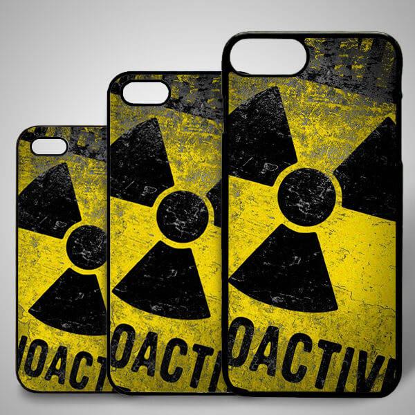 Radioactive iPhone Telefon Kapağı