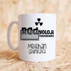 Radyoloji Teknikerine Hediye Kupa Bardak - Thumbnail