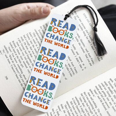 - Read Books Change The World Kitap Ayracı