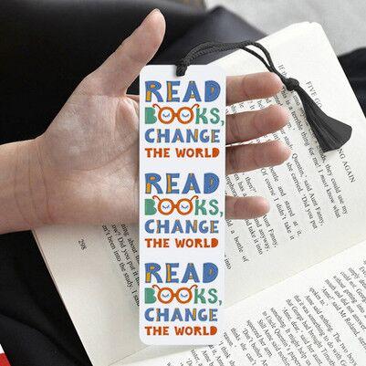 Read Books Change The World Kitap Ayracı - Thumbnail