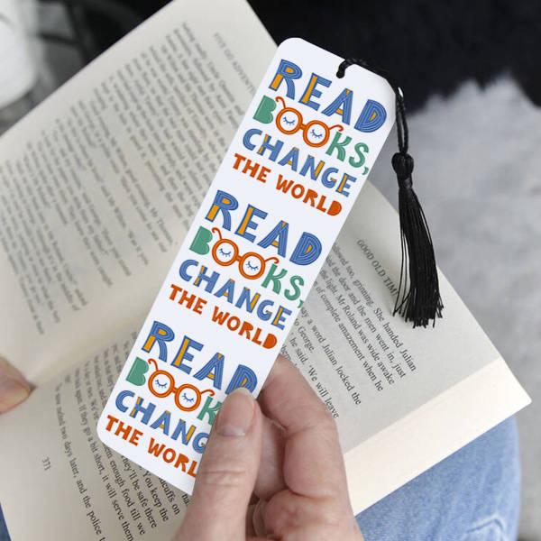 Read Books Change The World Kitap Ayracı