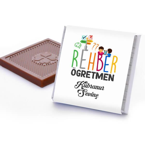 Rehber Öğretmenine Hediye Çikolata Kutusu