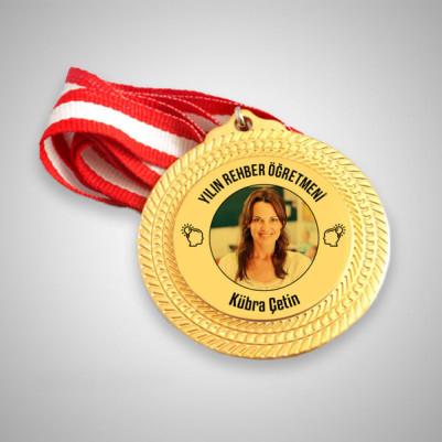 - Rehber Öğretmenine Hediye Madalyon
