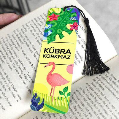 Rengarenk İsme Öze Kitap Ayracı - Thumbnail
