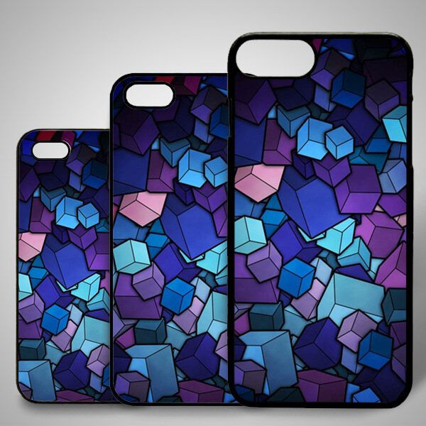 Renkli Küpler iPhone Telefon Kılıfı