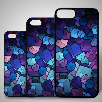 - Renkli Küpler iPhone Telefon Kılıfı