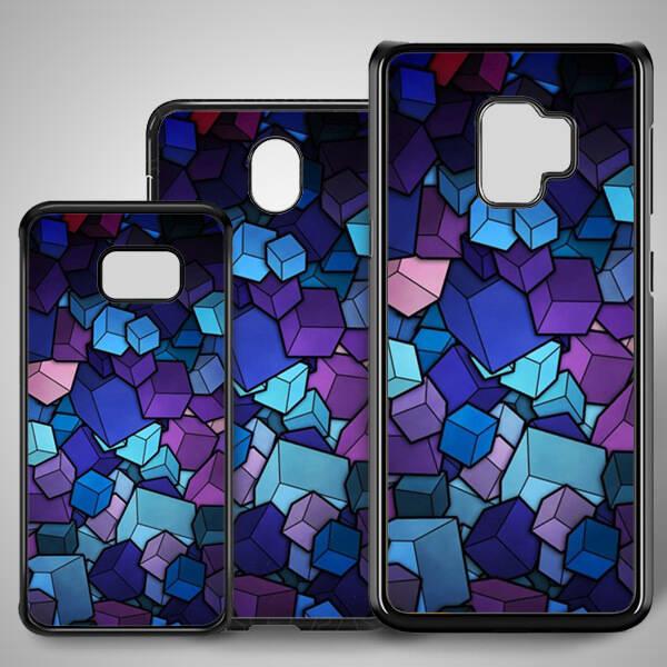 Renkli Küpler Samsung Telefon Kapağı