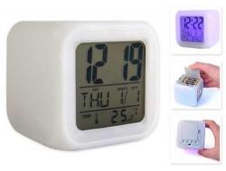 Renkli LED Işıklı Alarm Saat - Thumbnail