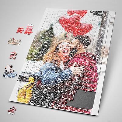 Resimli 100 Dilde Seni Seviyorum Puzzle - Thumbnail