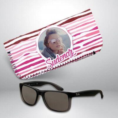 Resimli ve İsme Özel Gözlük Kılıfı - Thumbnail