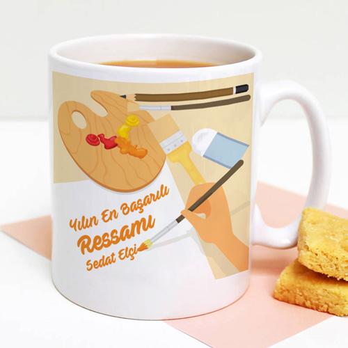 Ressamlara Özel Kahve Kupası