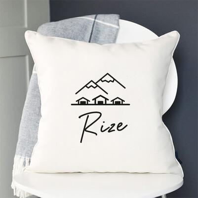 - Rize Tasarımlı Yastık
