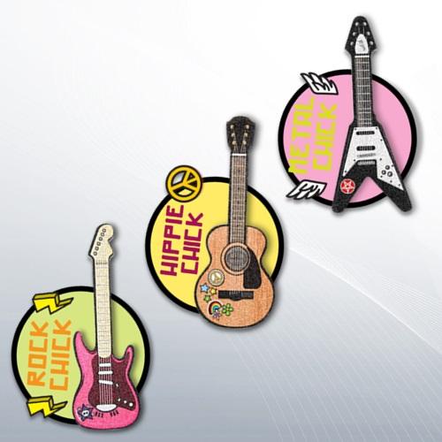 Rockstar Nail File - Gitar Tırnak Törpüleri