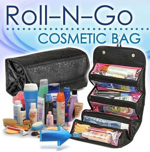 Roll N Go - Pratik Makyaj Çantası