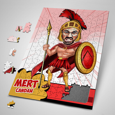 - Roma Askeri Karikatürlü Puzzle
