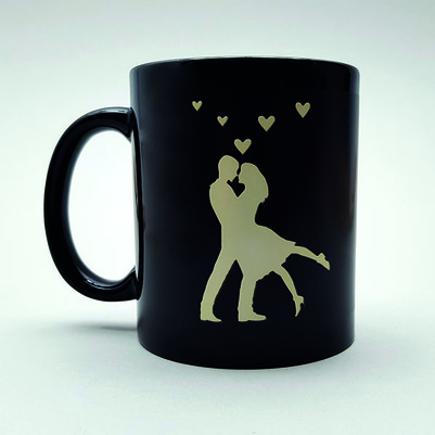 - Romantik Aşıklar Kahve Kupası