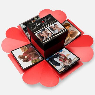 Romantik Film Şeridi Patlayan Kutu Sürprizi - Thumbnail