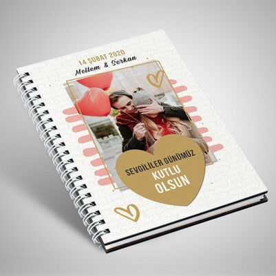 - Romantik Sevgililer Günü Hediyesi Aşk Defteri