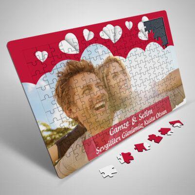 Romantik Sevgililer Günü Sürpriz Puzzle - Thumbnail