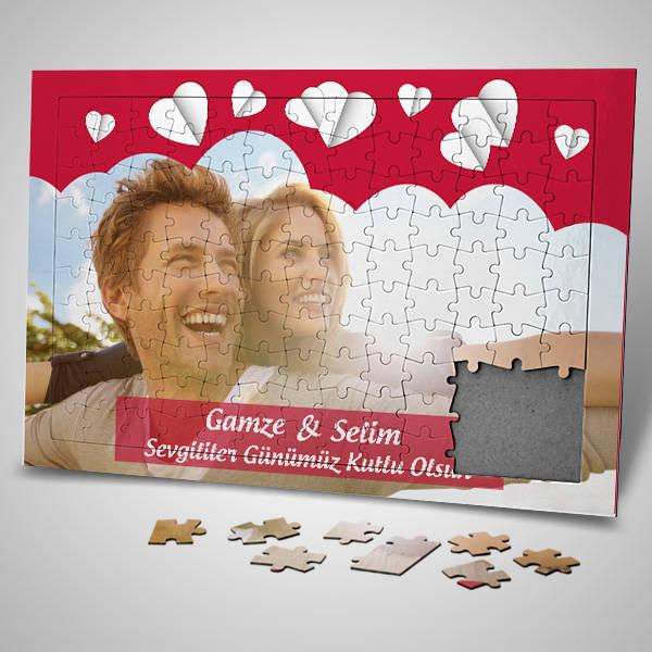 Romantik Sevgililer Günü Sürpriz Puzzle