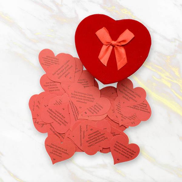 Romantik Sürpriz Yapma Seti Hediye Kutusu