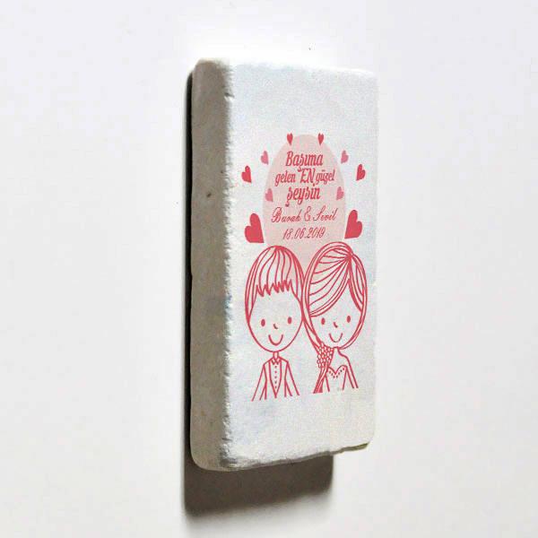 Romantik Tasarım Buzdolabı Magneti