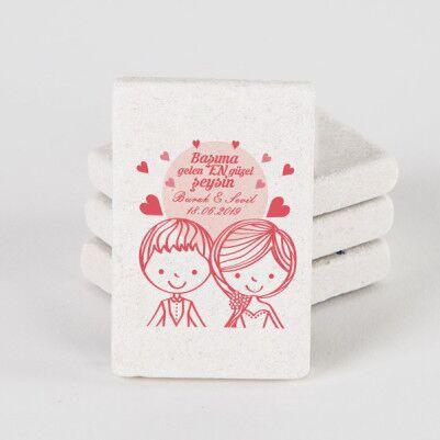 - Romantik Tasarım Buzdolabı Magneti