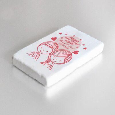 Romantik Tasarım Buzdolabı Magneti - Thumbnail