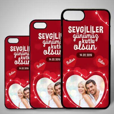 - Romantik Tasarımlı iPhone Telefon Kapağı
