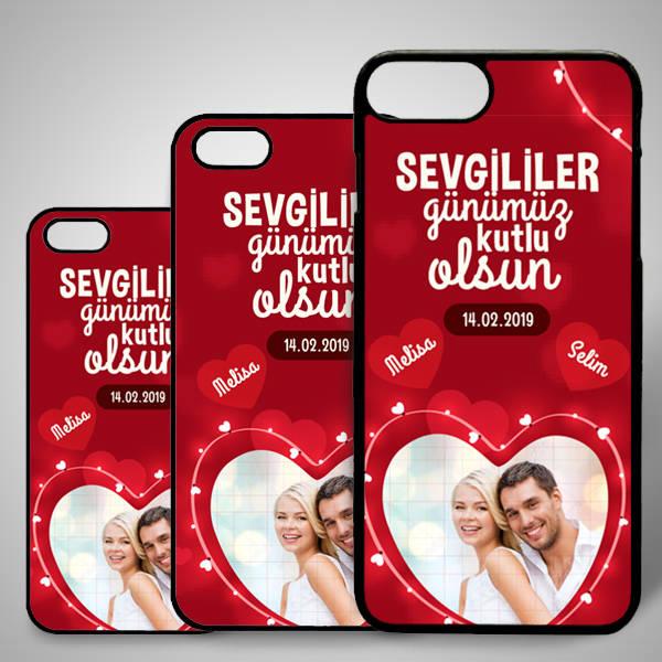 Romantik Tasarımlı iPhone Telefon Kapağı