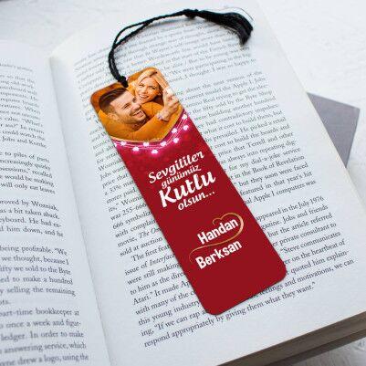 - Romantik Tasarımlı Kitap Okuma Ayracı