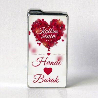 Romantik Temalı Sevgili Çakmağı - Thumbnail