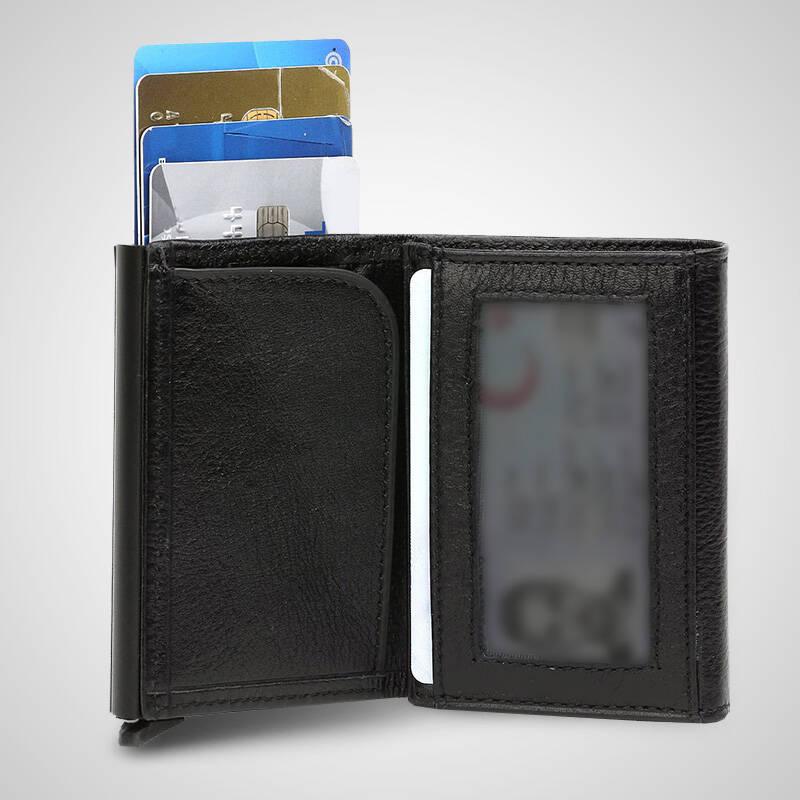 Sahibine Özel Mekanizmalı Kredi Kartlıklı Cüzdan