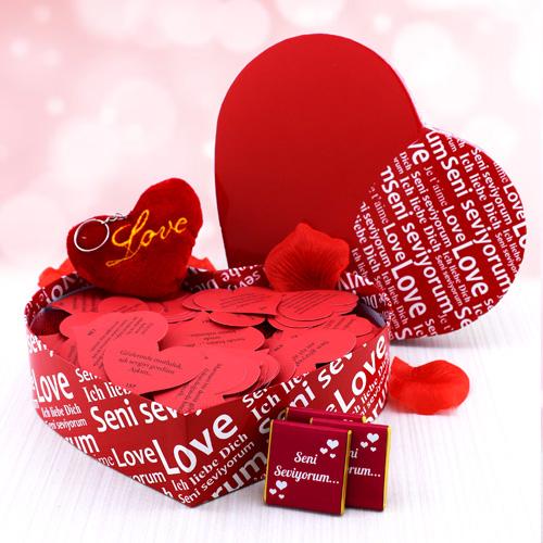 Sana Olan Büyük Sevgim Hediye Kutusu