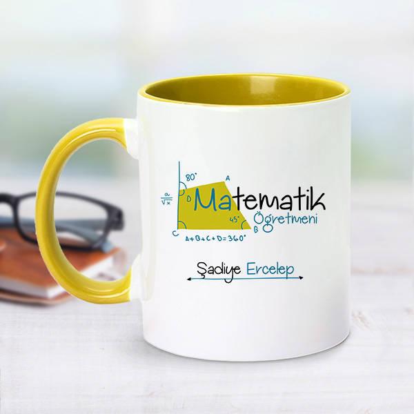 Sarı Kupa Bardak Matematik Öğretmenlerine Özel