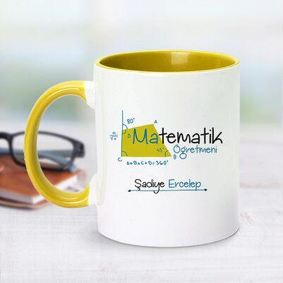 - Sarı Kupa Bardak Matematik Öğretmenlerine Özel