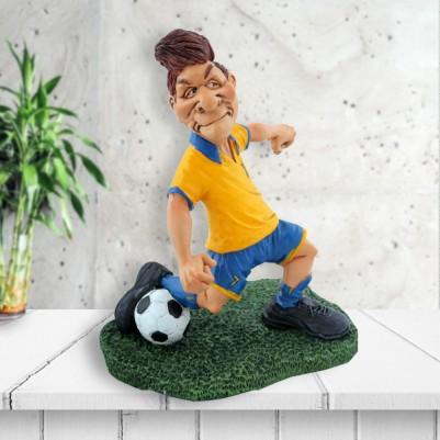 - Sarı Lacivert Formalı Futbolcu Biblosu