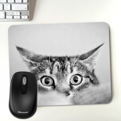 - Şaşkın Kedi Temalı Mousepad
