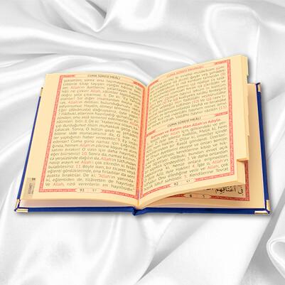 Seccade ve Dualar Hediye Kutusu MAVİ - Thumbnail