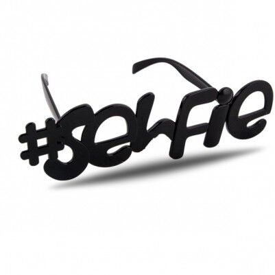 Selfie Yazılı Parti Gözlüğü - Thumbnail