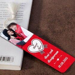 Sen ve Ben Kişiye Özel Kitap Ayracı - Thumbnail