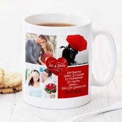 Seni Canımdan Çok Seviyorum Kahve Kupası - Thumbnail